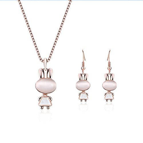 Pretty bunny jewelry for Easter or any day
