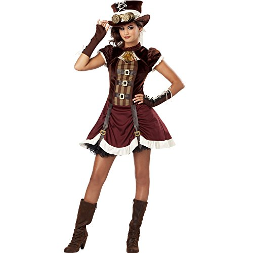 California Costumes Steampunk Girl Tween Costume, X-Large -