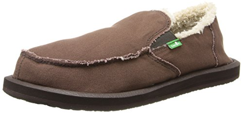 buy cheap fast delivery Sanuk Men's Vagabond Chill Slip On Dark Brown collections cheap price sale newest ssYDShYdw