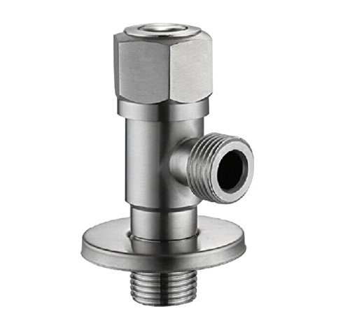 ximeiyangweiyu Mixing Valve Faucet Stainless Steel Bathroom Angle Stop Valve Water Heater Triangle Accessary Sink Toilet Bathroom Kitchen Home