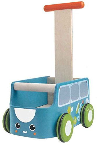 (Plan Baby Toys Van Walker- Blue)