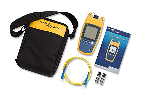 - Fluke Networks FOS-100-S Fiber One-Shot Pro Kit, Single Mode Fault Finder
