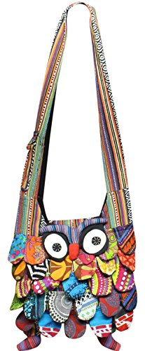 Shoulder Bag Owl Body Shopoholic Across Fashion Sling wa1R5qCfx