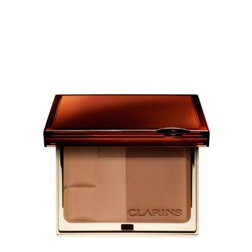 (Clarins Bronzing Duo SPF 15 Mineral Powder Compact 03 dark Sun-Swept Radiance color: 03 dark, size: 10 g,)
