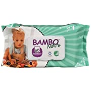 Bambo Nature Baby Wipes 80s (Pack of 4)