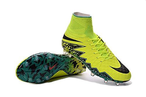 zhromgyay zapatos para hombre Hypervenom Phantom II FG–Botas de fútbol