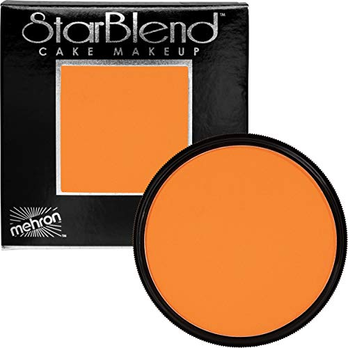 Mehron Makeup StarBlend Cake (2 oz) (Orange) -