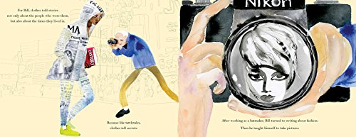 Polka Dot Parade: A Book About Bill Cunningham by little bee books (Image #6)