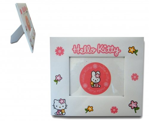 Character Hello Kitty White Photo Frame Decoration
