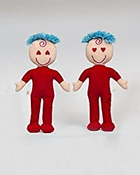 """Awake and Asleep Cloth Rag Dolls For Children: Old Fashioned Fabric Baby For Kids Are Pretty and Best Toys For Both Boy and Girl Toddlers, 2 Year Olds, Babies and Newborns - 1 15"""" Doll 2 Faces by Kane Marketing LLC"""