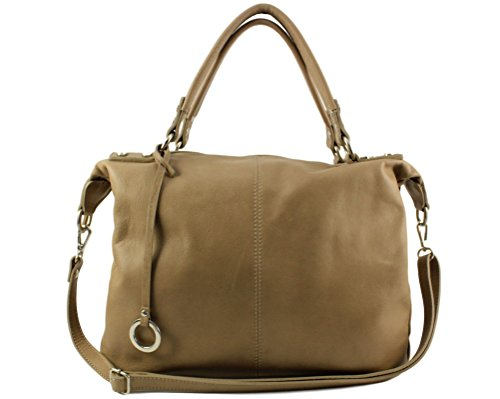 Woman Smooth Skin Chloly Tote Brown Bag xwOOX7Fq