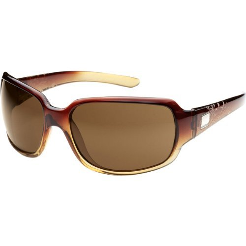 Suncloud Cookie Polarized Sunglasses, Brown Fade Laser Frame, Brown Lens by Suncloud