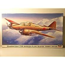 Hasegawa Models----1/72 Scale WW II Japanese Mitsubishi Ki46 Dinah Trainer---Plastic Model Kit