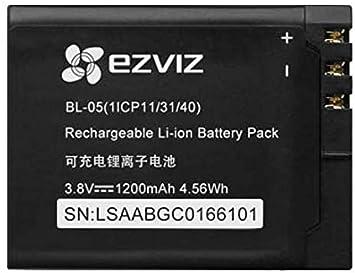Ezviz Batterie Lithium Ion Akku Für Ezviz S5 Plus Kamera