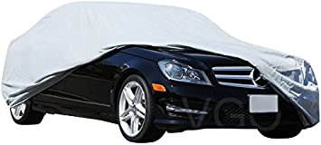 SIZE L-XL Car Cover Universal Waterproof UV Rain Snow Resistant Dust Outdoor