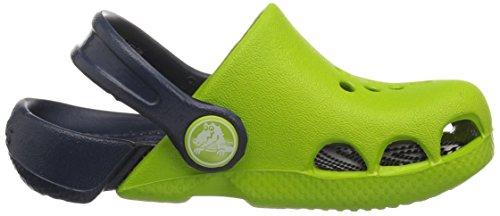 Zoccoli Unisex Electro bambini Crocs Verde giallo E8q5xw0