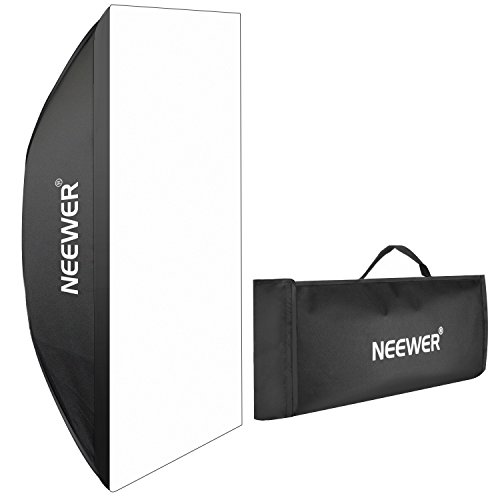 Neewer Portable Rectangular Softbox with Bowens Mount 60 X 90cm/23.6'' X 35.4'' for Canon Nikon 300w 400W 600w 800W 1000w Studio Flash by Neewer