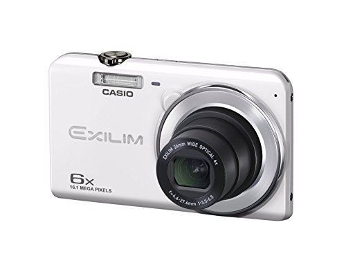 Casio Exilim Camera Manual (CASIO digital camera EXILIM EX-ZS28WE wide-angle 26mm optical 6x zoom premium auto 16.1 million pixels (White))