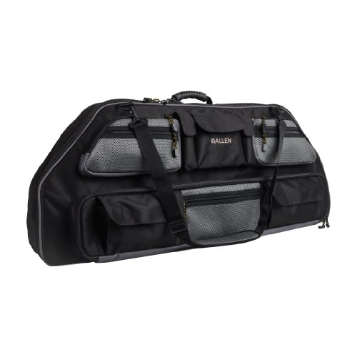 Archery Case - Compound Bow Case, Black Gear Fit X Fits Compound Bows up to 35