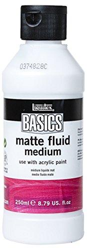Liquitex BASICS Matte Fluid Medium, 8.79-oz Bottle