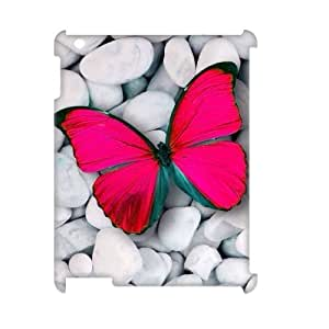 Personalized New Print Case for Ipad 2,3,4 3D, Butterfly Phone Case - HL-R666590