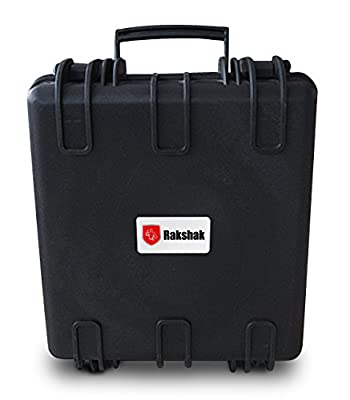 Rakshak TM131306 Protective Case for iPads with iSense, Structure, Primesense 3D Scanners in Storage and Travel