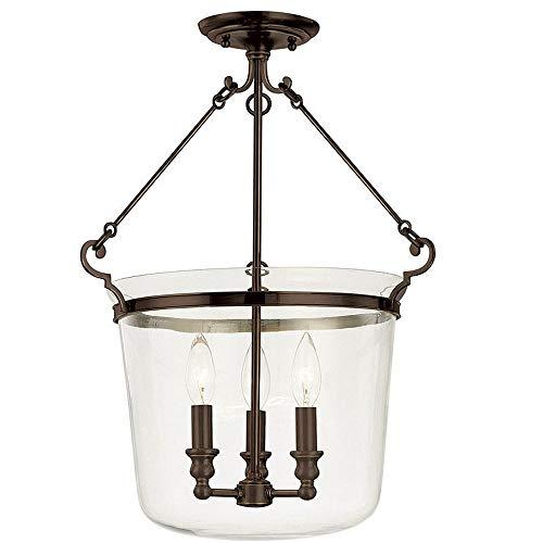 - Hudson Valley Lighting 132-OB Edison Collection - Two Light Chandelier, Old Bronze Finish
