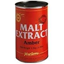 Monster Brew Home Brewing Supplies J091 Malt Extract Amber