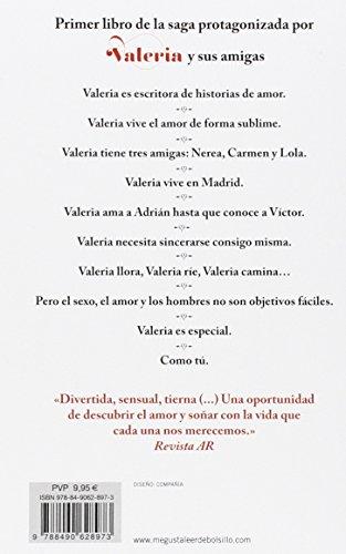 En los zapatos de Valeria (Saga Valeria 1) de la autora española Elísabet Benavent   Letras y Latte - Libros en español