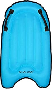 Surfboard OMOUBOI Foldable Inflatable Surfboard Portable Swimming Pool Floating Pad River Sea Swimming Surfing