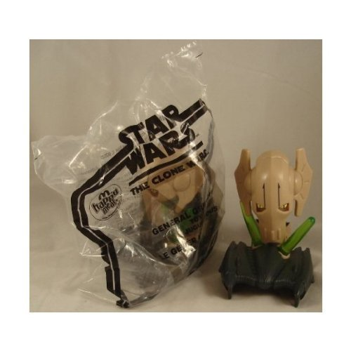 McDonald's 2008 Happy Meal Toy Star Wars : The Clone Wars #16 General Grievous - Loose