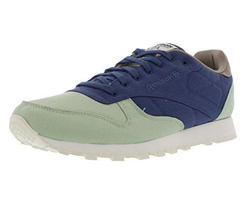 Reebok Cl Leather Clean 60c40n Herenschoenen Maat Salie / Midnight Blue / Stone