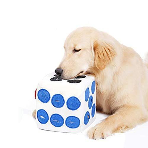 würfel hundespielzeug,schnüffelteppich intelligenzspielzeug für haustier,hund riechen trainieren spielzeug…
