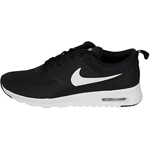 Nike Air Max Thea Kvinder Sneaker Træner 599409-020 Sort / Hvid Hn2aOv