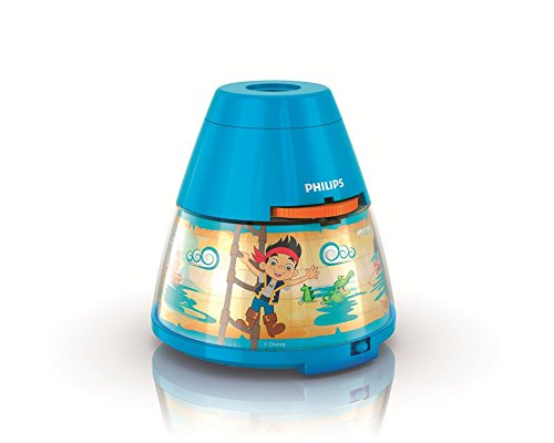 Philips 717690548 Jake The Never Land Pirate Disney 2-in-1 Projector and Night Light, 4.53
