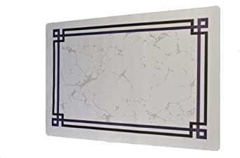"""Dinex DX5330Q Paper Avanti II Tray Cover with Straight Edge/Small Corner, 19"""" Length x 13"""" Width, Size Q (Case of 1000)"""