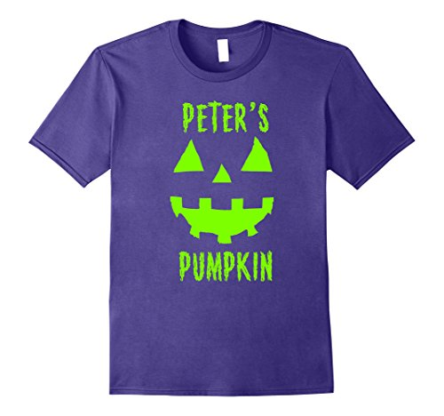 Mens Couples Halloween Costume Ideas Peter's Pumpkin T-Shirt 3XL (Scary Couples Costume Ideas)