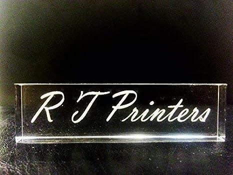 Beschriftung Namensschild Schild Büroschild Tischaufsteller mit Gravur 71