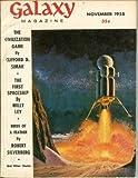 img - for GALAXY Science Fiction: November, Nov. 1958 (