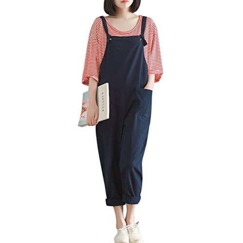 Jmwss QD Womens Print Jumpsuit Sleeveless Wide Long Pants Jumpsuit Rompers