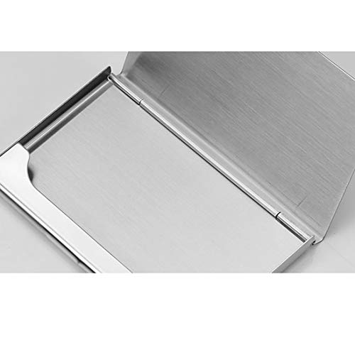 Stainless Steel Card Case Personalized Name Custom Business Card Holder