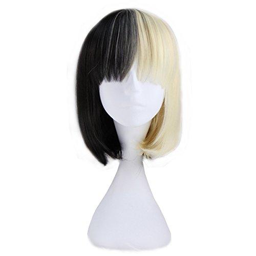 - Miss U Hair Girl's Short Straight Lolita Wig Bob Style Cosplay Party Wig