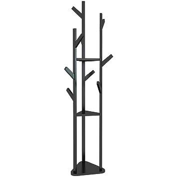 CAI CAI Perchero de bambú Sala de Estar Dormitorio Rama ...