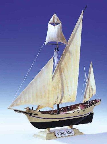Heller Corsair Single Masted Sailing Ship 1//150 Scale