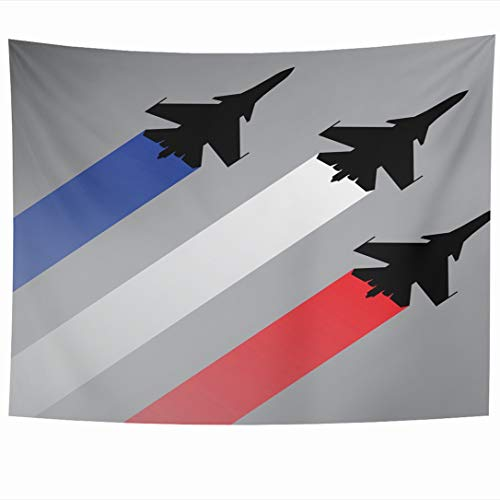 Ahawoso Tapestry 60 x 50 Inches F16 Jet Fighter Planes for sale  Delivered anywhere in Canada