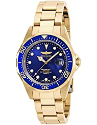 Invicta Womens 17052 Pro Diver Analog Display Japanese Quartz Gold Watch