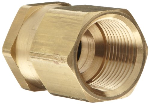 (Dixon Valve & Coupling BAS976 Brass Fitting, Swivel Adapter, 3/4