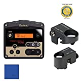 Roland TM2 Trigger Module with Roland RT-30K Acoustic Drum Trigger & Roland RT-30H Trigger Bundle with 1 Year Free Extended Warranty and Microfiber