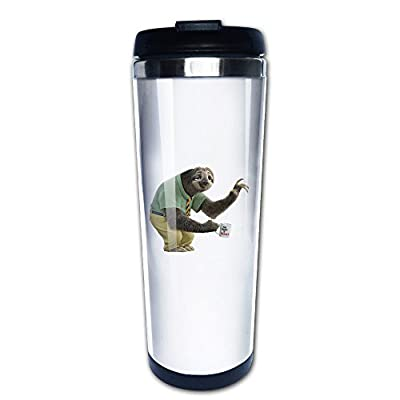 Flash Sloth Zootopia Movie Travel Coffee Mug Water Bottle - Susan Vincent