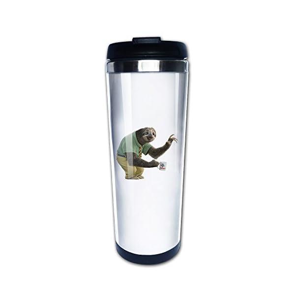 Flash Sloth Zootopia Movie Travel Coffee Mug Water Bottle -